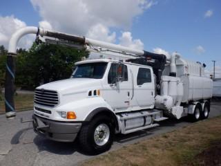 2008 Sterling LT9500 Vacall Hydro Excavation Truck Air Brakes Diesel Sterling LT9500