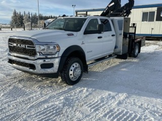 2019 DODGE RAM 5500 PICKER TRUCK