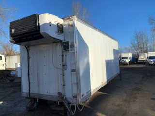2008 COLLINS 22' ALUMINUM INSULATED VAN BODY (21-009) Accessible Carousel